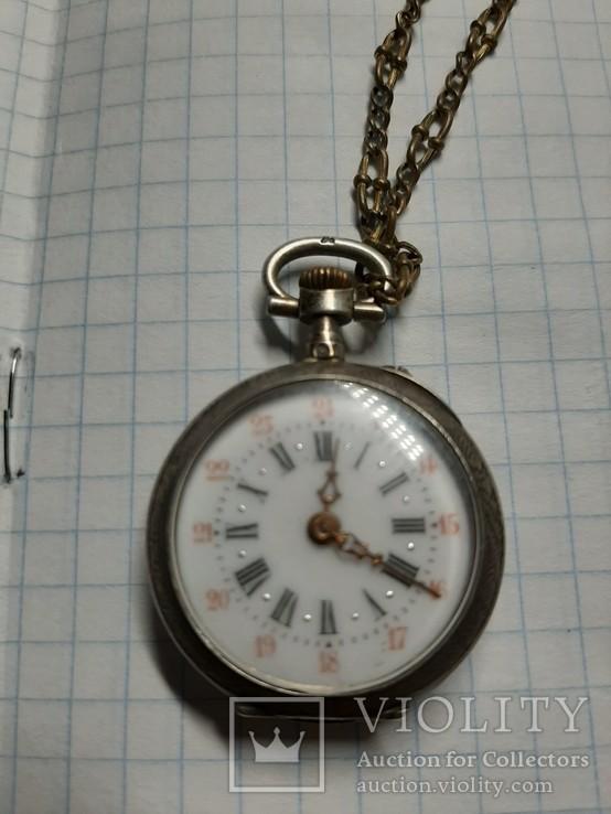 Часы карманные механические, фото №7