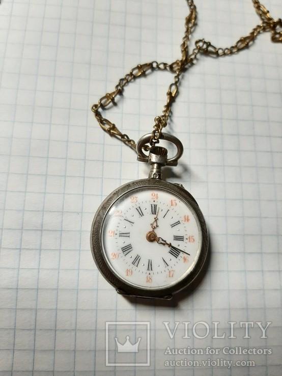 Часы карманные механические, фото №9