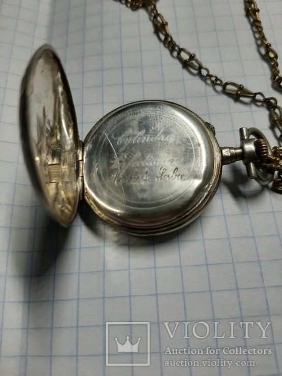 Часы карманные механические, фото №11