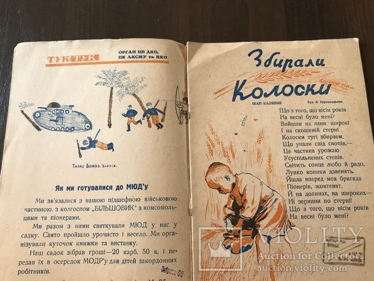 1933 Украинский Детский журнал, фото №4