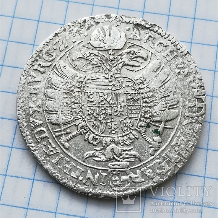 Каринтия, 1/2 талера 1620 года, м.дв. Клагенфурт