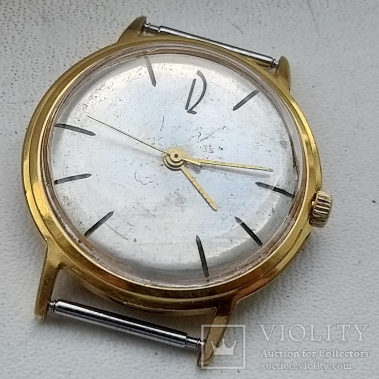 Часы Poljot de luxe automatic 29 jewels.Полет  позолота Au20