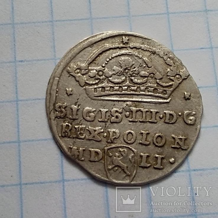 Монета середньовіччя 1607р