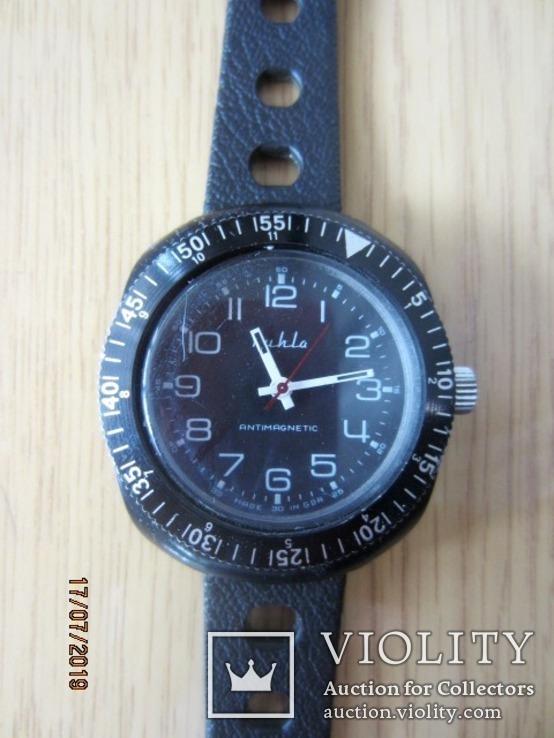 Ruhla tropicalized aviator Cal.UMF M24-35 1970