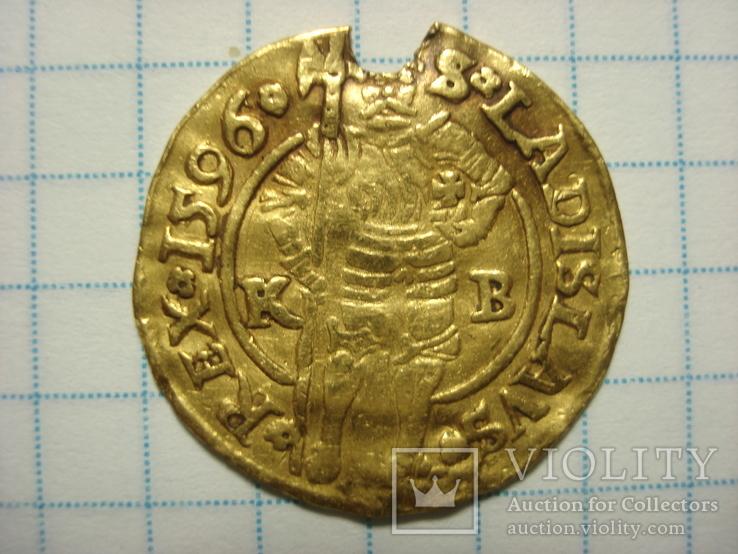 Дукат 1596 року