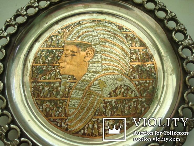 Настенная тарелка-Египет, фото №3