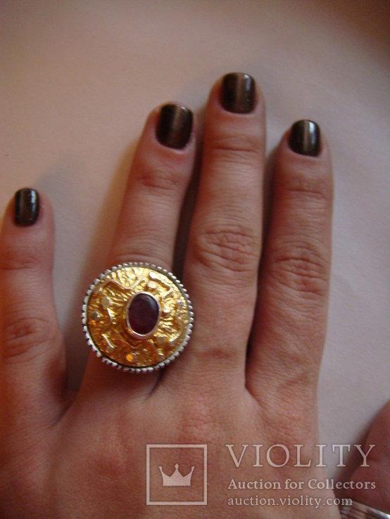 Набор серьги и кольцо, фото №5