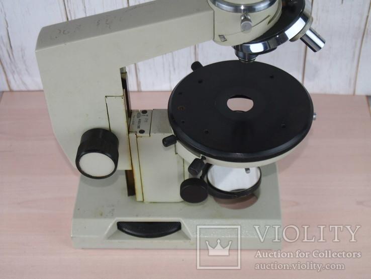 Микроскоп Р 11 ЛОМО + 2 окуляра 7 и 15 крат., фото №6