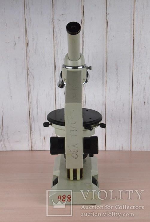 Микроскоп Р 11 ЛОМО + 2 окуляра 7 и 15 крат., фото №7