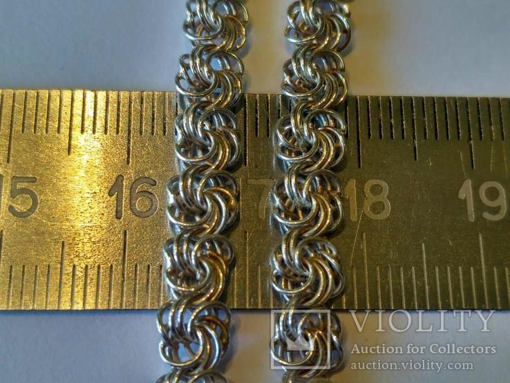 Цепочка 3 серебро, фото №3
