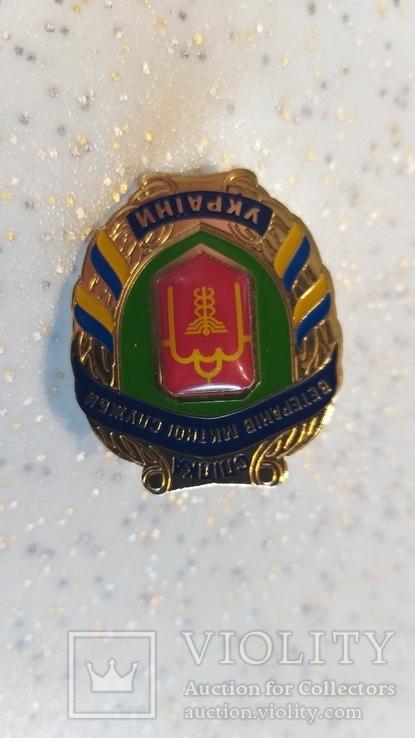"""Знак """"Спілка ветеранів митної служби"""", фото №2"""