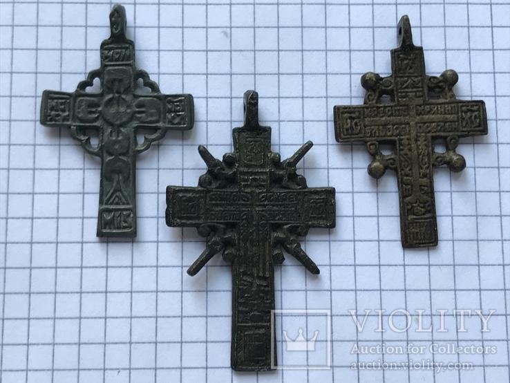 Кресты бронза.