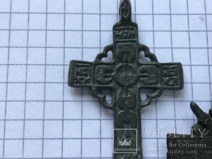 Кресты бронза., фото №3
