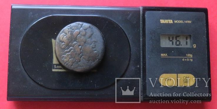 Драхма(Ае-40)Птоломея III Эвергета, царя Египта, фото №5