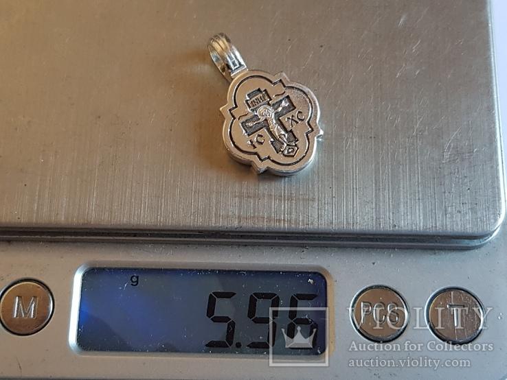 Нательная иконка. Серебро 925 проба. Вес 5.96 г., фото №8