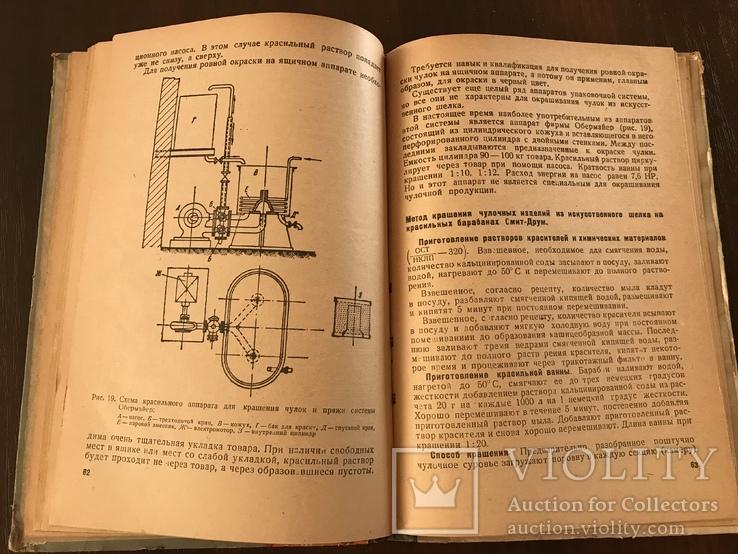 1936 Окрашивание и отделка искусственного Шелка, фото №8