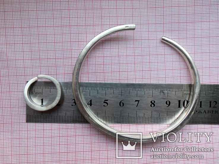 Комплект Pierre Cardin серебро вес 107,58 г. Колье, браслет, кольцо. Пьер Карден., фото №3