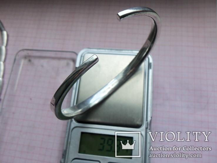 Комплект Pierre Cardin серебро вес 107,58 г. Колье, браслет, кольцо. Пьер Карден., фото №10