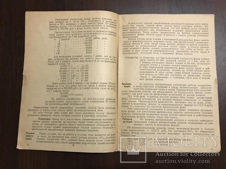 1930 Организация Труда и управление в Колхозах, фото №6