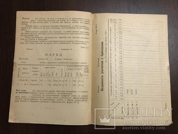 1930 Организация Труда и управление в Колхозах, фото №7