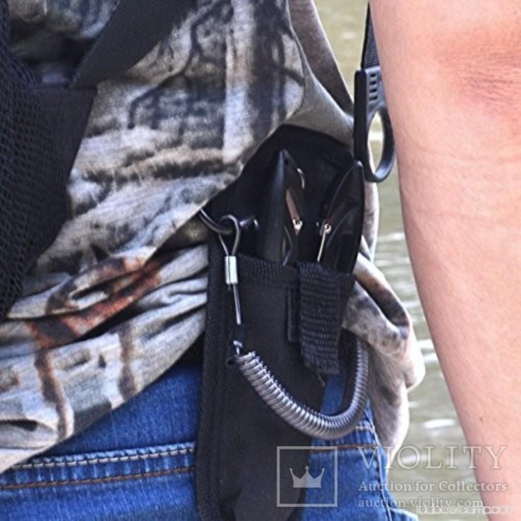 Страховочный шнур (тренчик) для пинпоинтера, пистолета, инструмента, фото №4