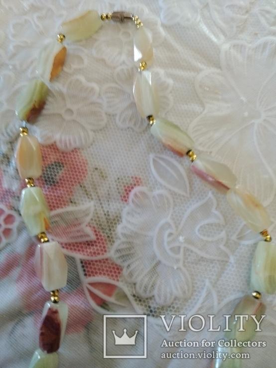 Ожерелье с Оникса, фото №3