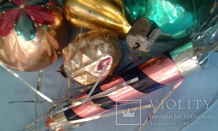 Игрушки ёлочные 6 шт одним лотом, фото №6