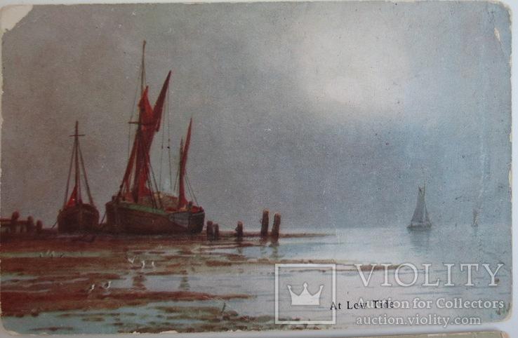 """Комплект открыток """"Лодки"""" 1900-х, фото №6"""