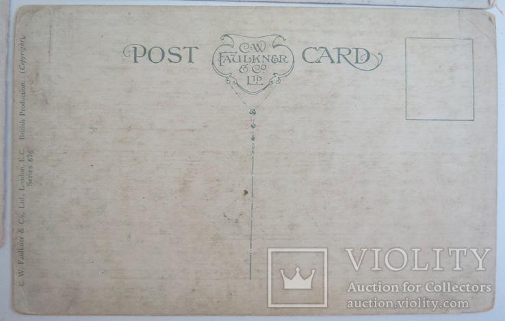 """Комплект открыток """"Лодки"""" 1900-х, фото №9"""