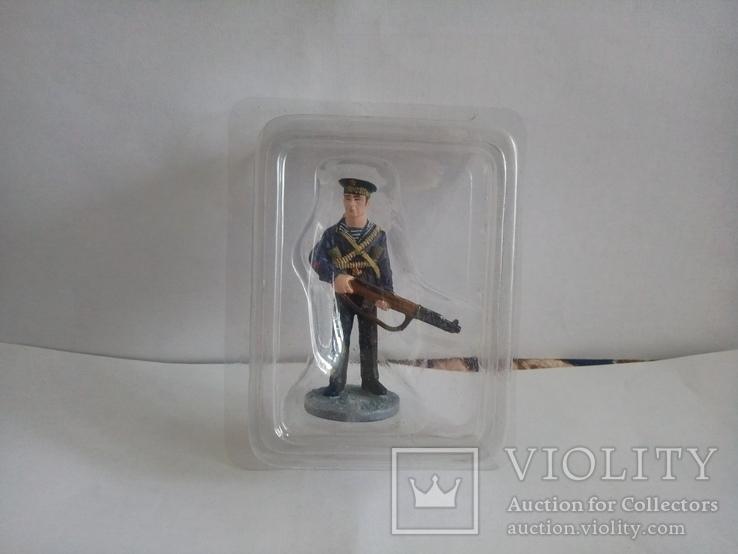 Краснофлотец морской пехоты Черноморского ВМФ, 1941-1943 гг.Лот №2., фото №2