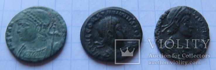 5 фоллисов императора Констанция Галла  ( 351 -354), фото №4