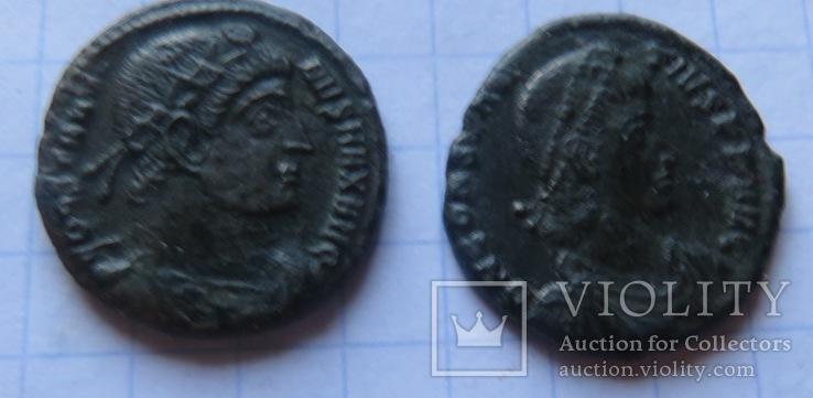5 фоллисов императора Констанция Галла  ( 351 -354), фото №5