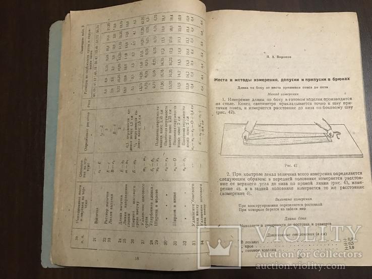 1937 Брюки Технология обработки швейных изделий, фото №8