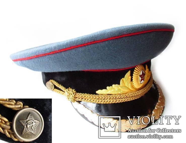 Фуражка высшего комсостава АБТВ автобронетанковых войск, артиллерия, фото №3