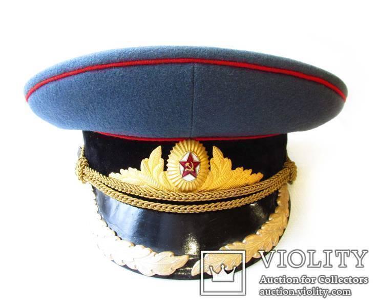 Фуражка высшего комсостава АБТВ автобронетанковых войск, артиллерия, фото №4