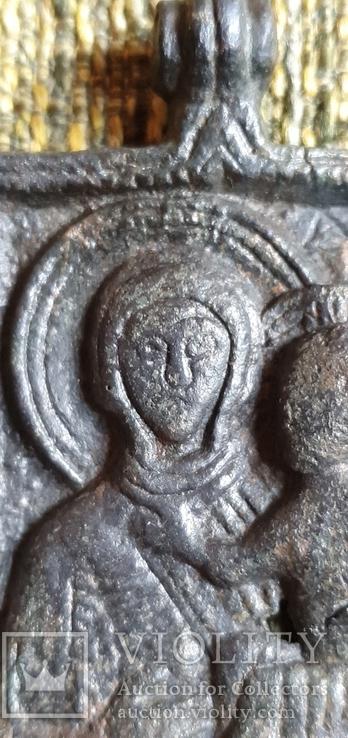 Богородица Одигитрия (Путеводительница) - Андреевский крест. XI-XIIвв., фото №6