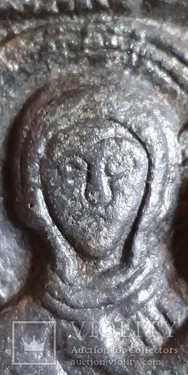 Богородица Одигитрия (Путеводительница) - Андреевский крест. XI-XIIвв., фото №7
