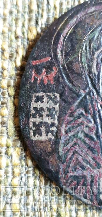Богородица Агиосоритисса. Выемчатые эмали. XIII-XIVвв., фото №6