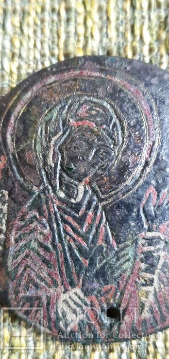 Богородица Агиосоритисса. Выемчатые эмали. XIII-XIVвв., фото №7