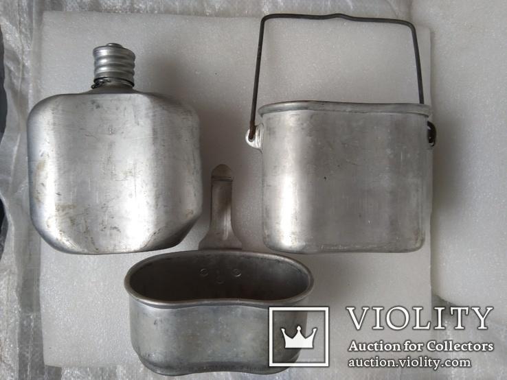Комбинированный котелок ВДВ. Клеймо КВ., фото №5