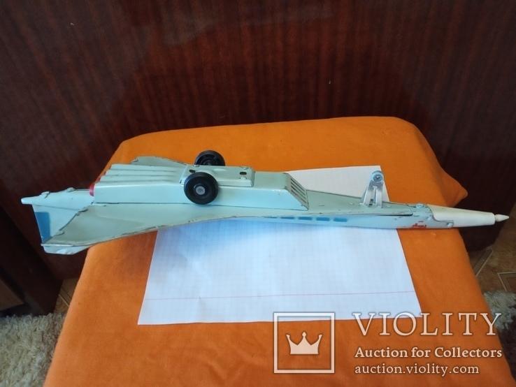 Игрушка ,самолет.ТУ-144,СССР., фото №5