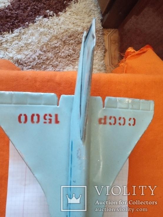 Игрушка ,самолет.ТУ-144,СССР., фото №8