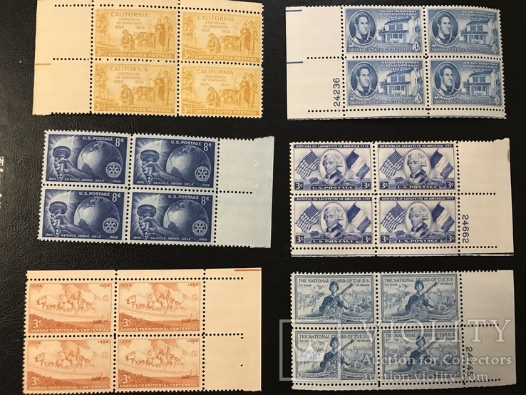 Сцепки марок США, фото №2