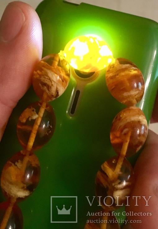 Браслет из янтаря 16,43 гр., фото №6