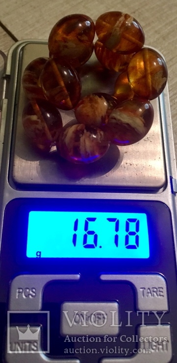 Браслет из янтаря 16,78 гр.