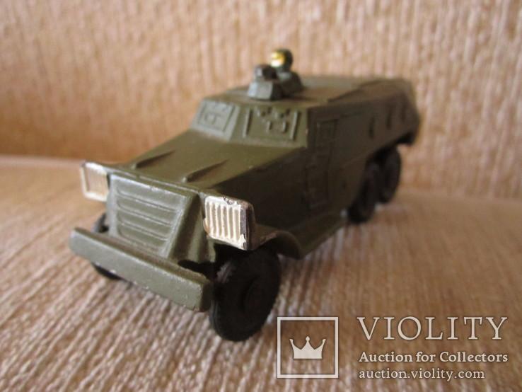 Модель Бронированного автомобиля с пулеметчиком, фото №2
