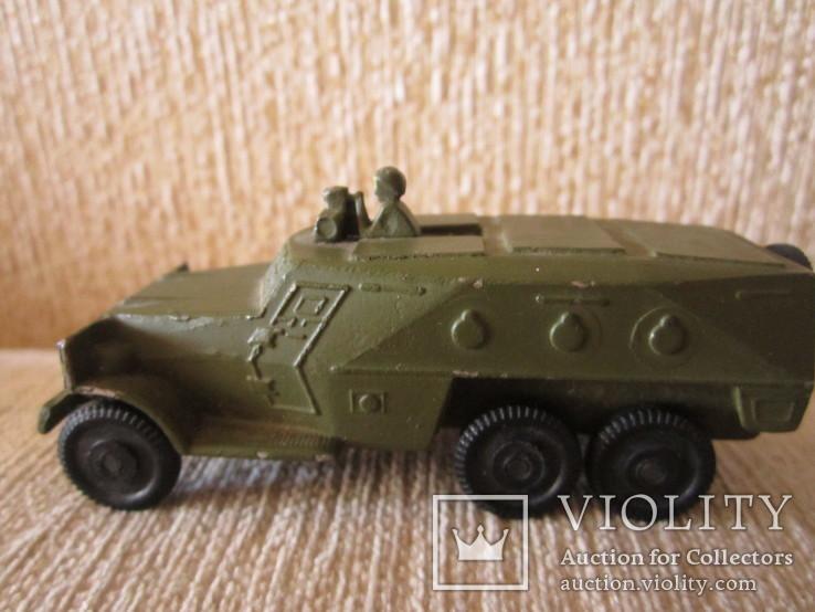 Модель Бронированного автомобиля с пулеметчиком, фото №5