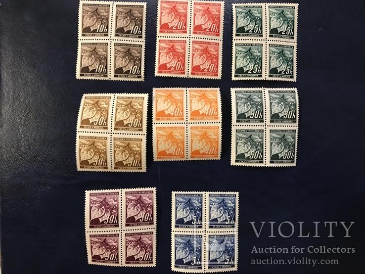 Сцепки марок. Богемия и Моравия., фото №2