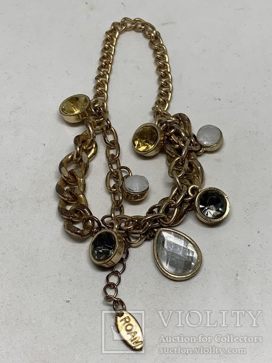 Золотистый браслет от Итальянской компании ROAM, фото №2