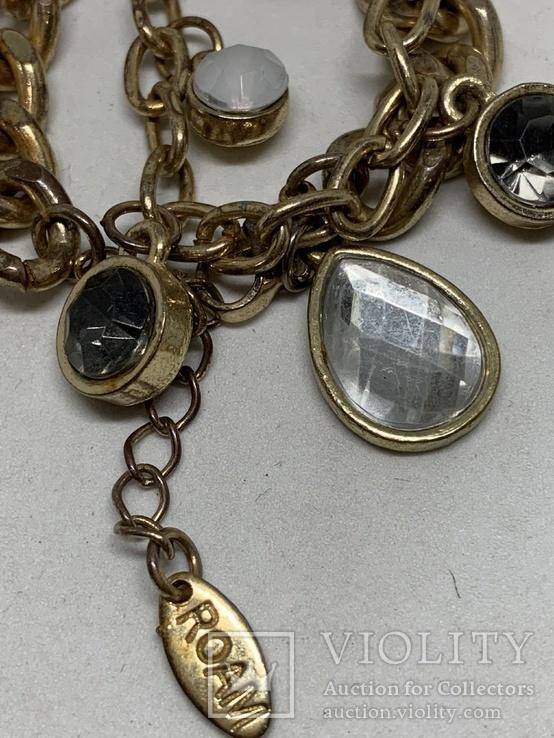 Золотистый браслет от Итальянской компании ROAM, фото №3